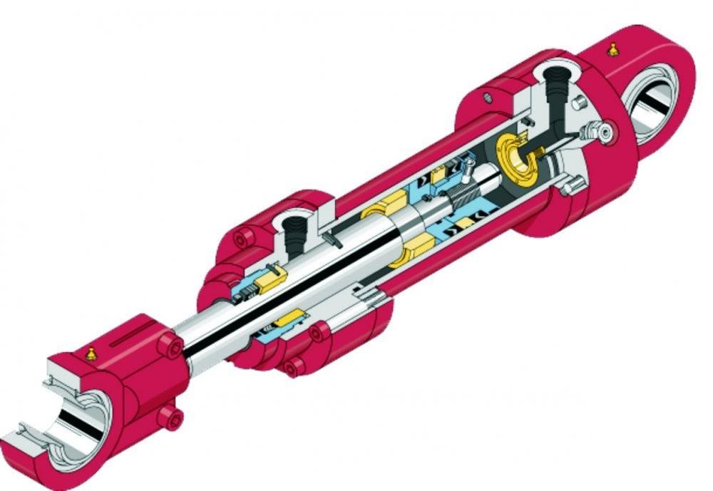 Назначение и конструкция гидравлических цилиндров