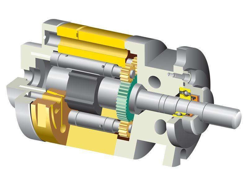 Гидравлический мотор конструкция и принцип работы